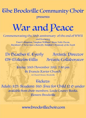 poster War & Peace cropped